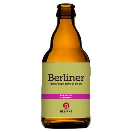 Alvinne Berliner Framboos (Raspberry) Sour 330ml (4%) - indiebeer