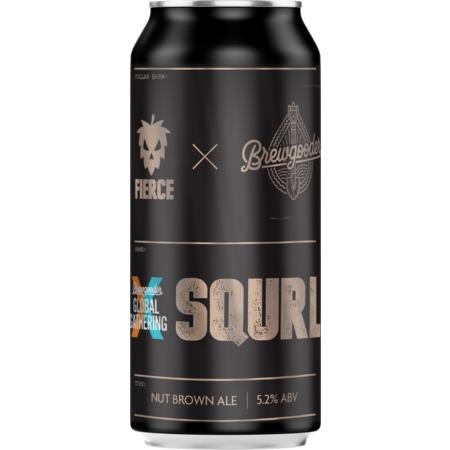 Fierce SQURL Hazelnut Brown Ale 440ml (5.2%)