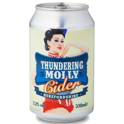 Celtic Marches Thundering Molly Cider 330ml (5.2%)