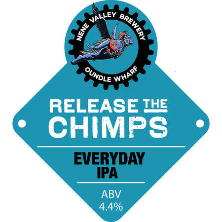 Nene Valley Brewery Release The Chimps IPA 330ml (4.4%)
