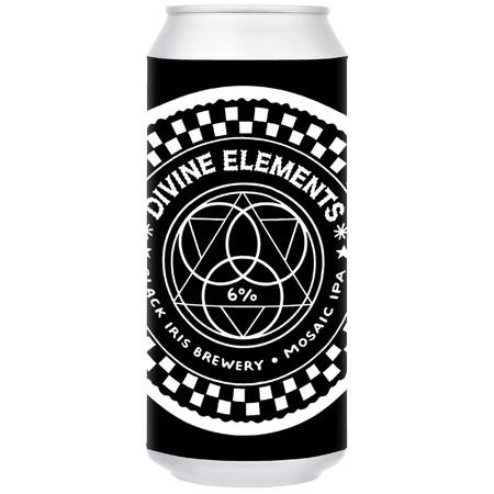 Black Iris Divine Elements Mosaic IPA 440ml (6%) - indiebeer