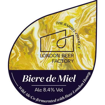 London Beer Factory Biere De Miel Raw Honey Wild Ale 330ml (8.4%)