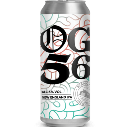 Bianca Road OG 56 New England IPA 440ml (6%)