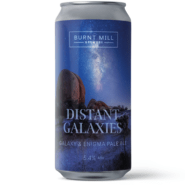 Burnt Mill Distant Galaxies Enigma Galaxy Pale Ale 440ml (5.2%) - indiebeer