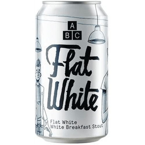 Alphabet Brewing Flat White - White Breakfast Stout 330ml (7.4%) - indiebeer