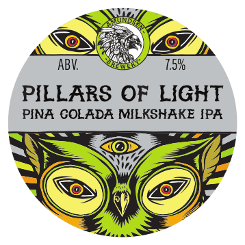 Amundsen Pillars of Light - Pina Colada Milkshake IPA 440ml (7%)