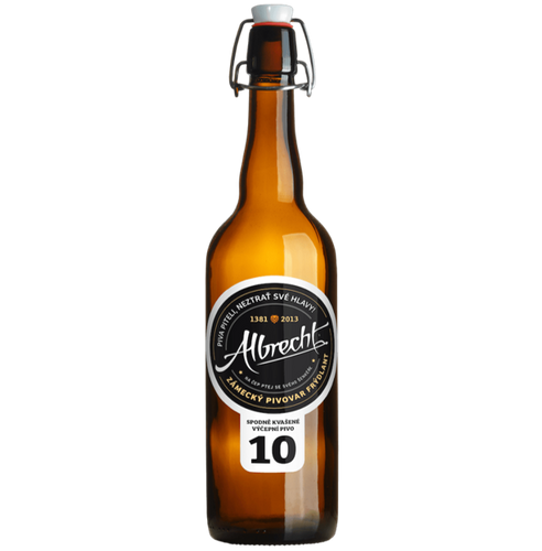 Albrecht 10 Czech Pilsner 500ml (4%)