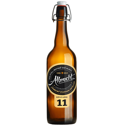 Albrecht 11 Czech Pilsner 500ml (4.5%)