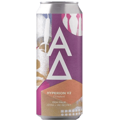 Alpha Delta Hyperion V2 Hazy Pale 440ml (5%)