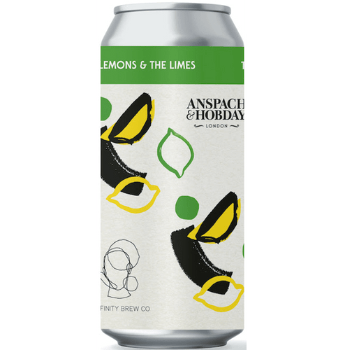 Anspach & Hobday x Affinity Brew Co. Collab The Lemons & The Limes Zested Hefeweizen Wheat Beer 440ml (4.6%)