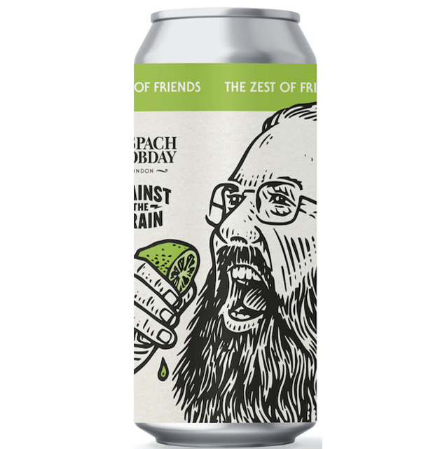 Anspach & Hobday x Against the Grain Collab Zest of Friends Lager 440ml (5.5%)