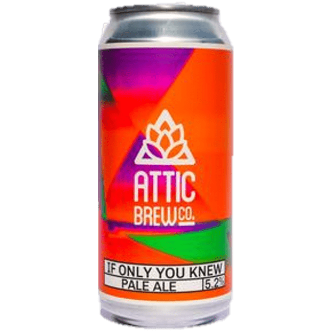 Attic If Only You Knew Pale Ale 440ml (5.2%)
