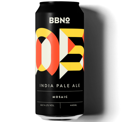 Brew By Numbers (BBNO) 05 India Pale Ale Mosaic 440ml (6.2%)