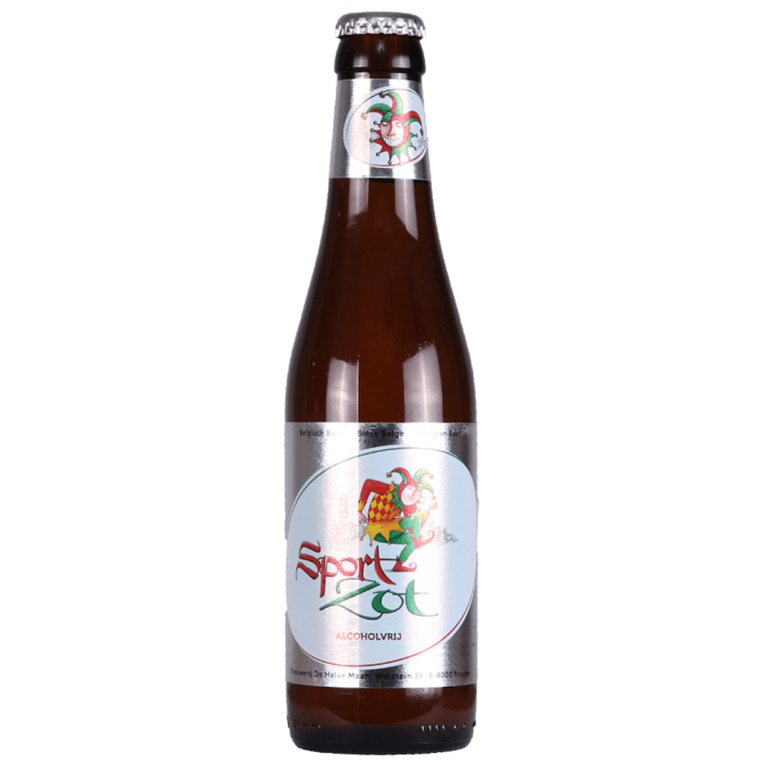 De Halve Maan Sport Zot Blonde Alcohol Free 330ml (0.4%)