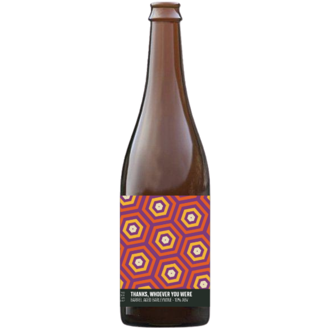 Howling Hops Thanks, Whoever You Were Barrel Aged Barleywine 750ml (10%)