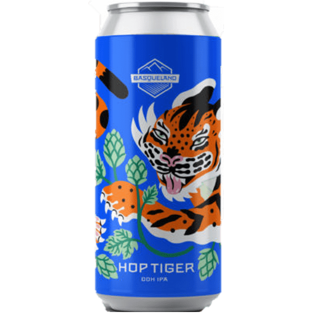 Basqueland Hop Tiger DDH IPA 440ml (6.5%)
