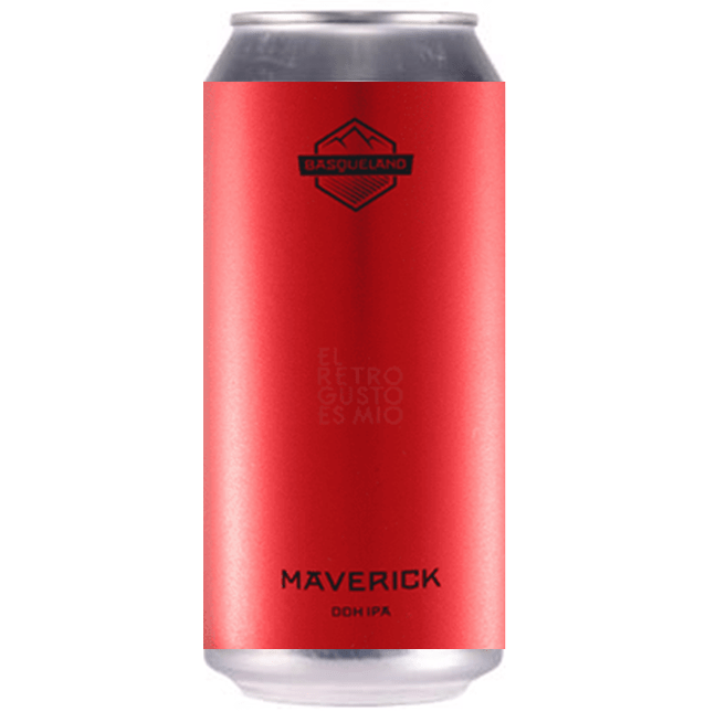Basqueland Maverick DDH IPA 440ml (6.2%)