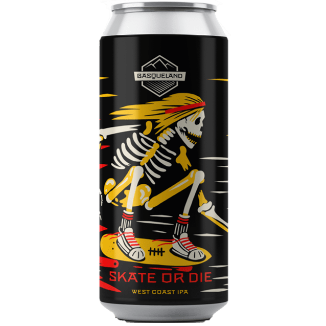 Basqueland Skate Or Die West Coast IPA 440ml (6.7%)