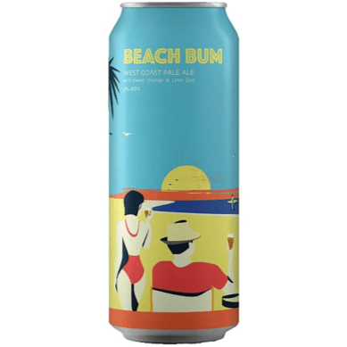 Beatnikz Republic Beach Bum Pale Ale 440ml (5%)