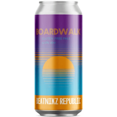 Beatnikz Republic Boardwalk Gluten Free Pale Ale 440ml (4%)