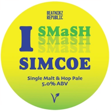 Beatnikz Republic I Smash Simcoe Pale Ale 440ml (5%)