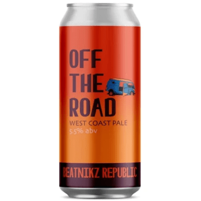 Beatnikz Republic Off The Road West Coast Pale Ale 440ml (5.5%)