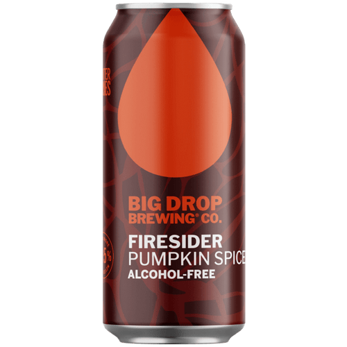 Big Drop Firesider - Alcohol Free Pumpkin Spiced Ale 440ml (0.5%) - indiebeer