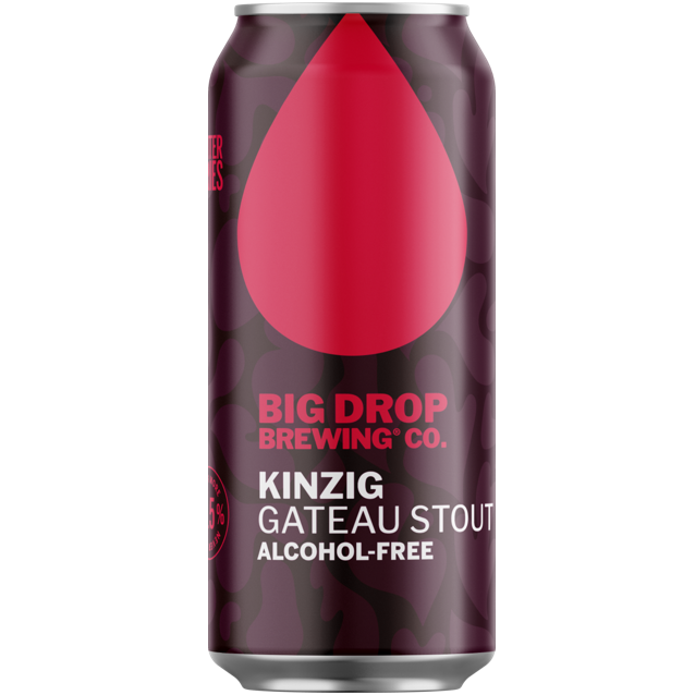 Big Drop Kinzig - Alcohol Free Gateau Stout 440ml (0.5%)
