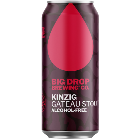Big Drop Kinzig - Alcohol Free Gateau Stout 440ml (0.5%) - indiebeer