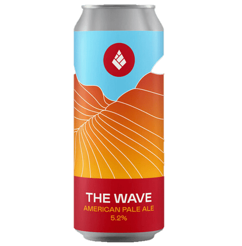Drop Project The Wave American Pale Ale  440ml (5.2%) - indiebeer