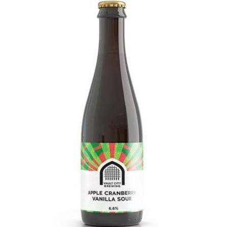 Vault City Apple Cranberry Vanilla Imperial Sour 375ml (6.6%)