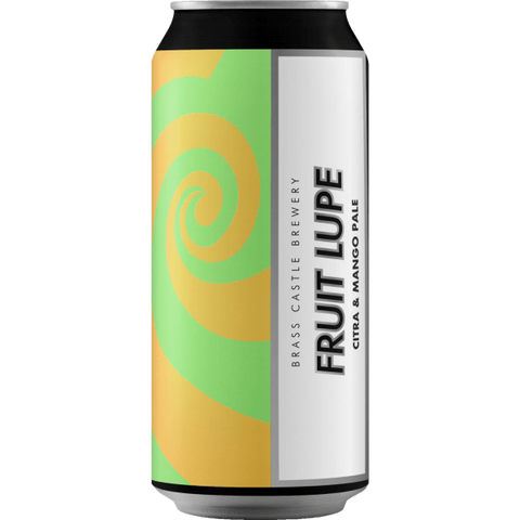 Brass Castle Fruit Lupe GF Citra Pale Ale with Mango 440ml (4.8%)