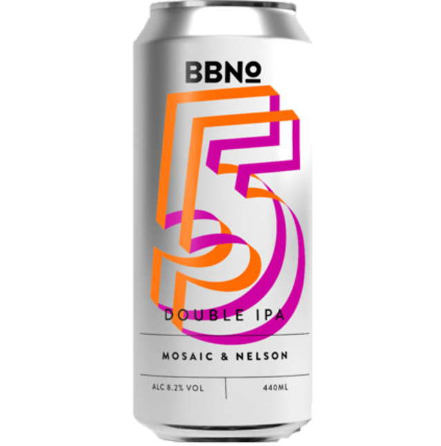 Brew By Numbers 55 Double IPA Mosaic & Nelson Sauvin DIPA 440ml (8.2%)