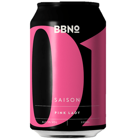Brew By Numbers (BBNO) 01 Saison Pink Lady 330ml (5%) - indiebeer