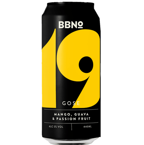 Brew By Numbers (BBNO) 19 Gose Mango Guava Passionfruit 440ml (5%) - indiebeer