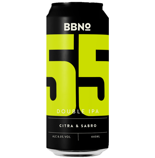 Brew By Numbers (BBNO) 55 DIPA Citra & Sabro 440ml (8%)