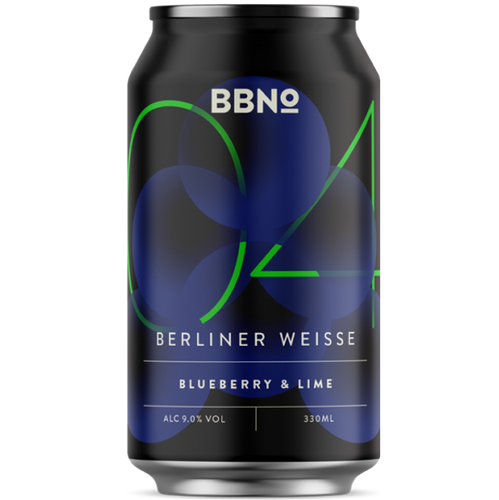 Brew By Numbers (BBNo) 04 Blueberry & Lime Imperial Berliner Weisse 440ml (9%)