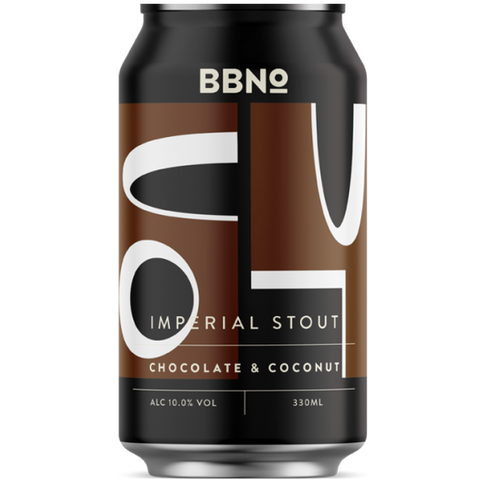 Brew By Numbers (BBNo) 64 Chocolate & Coconut Imperial Stout 330ml (10%)