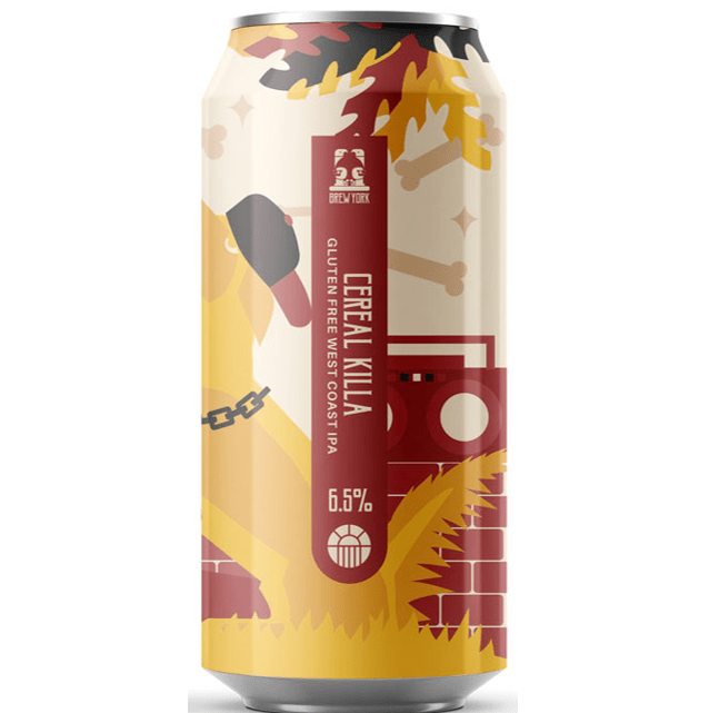 Brew York Cereal Killa Gluten Free West Coast IPA 440ml (6.5%)