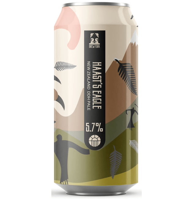 Brew York Haast's Eagle New England DDH Pale 440ml (5.7%)
