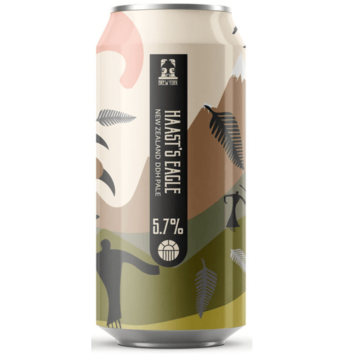Brew York Haast's Eagle New England DDH Pale 440ml (5.7%) - indiebeer