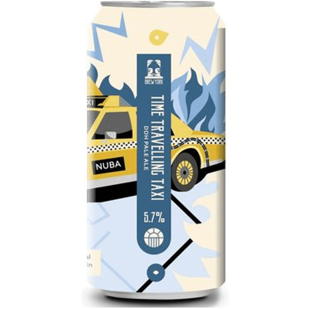 Brew York Time Travelling Taxi DDH Pale Ale 440ml (5.7%)