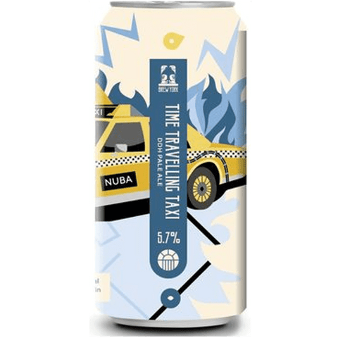 Brew York Time Travelling Taxi DDH Pale Ale 440ml (5.7%) - indiebeer