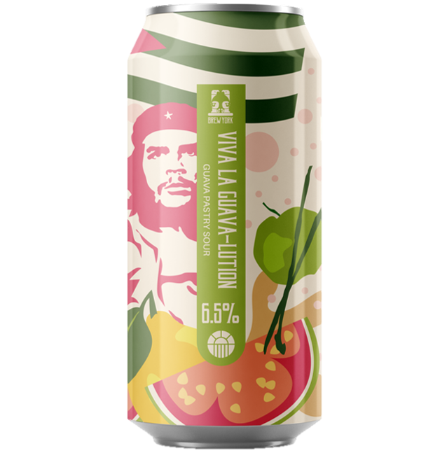 Brew York Viva La Guava-Lution Pastry Sour 440ml (6.5%)