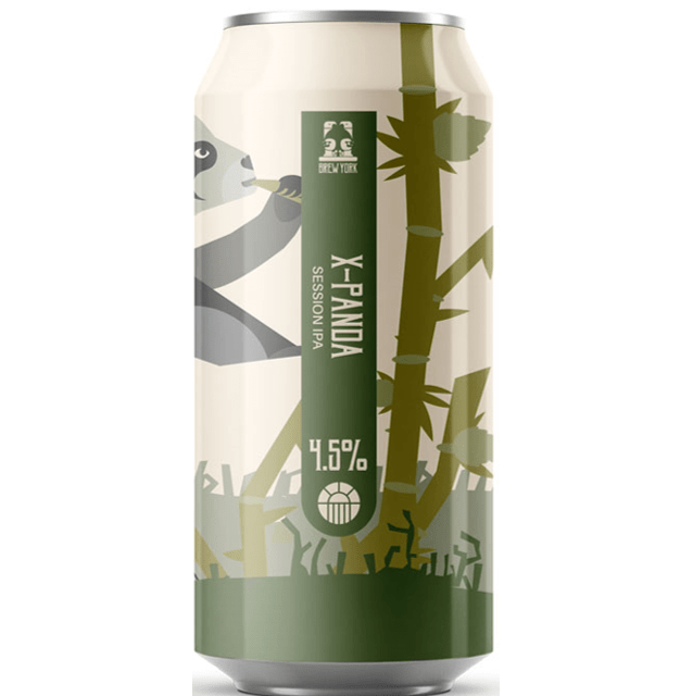 Brew York X-Panda Session IPA 440ml (4.5%)