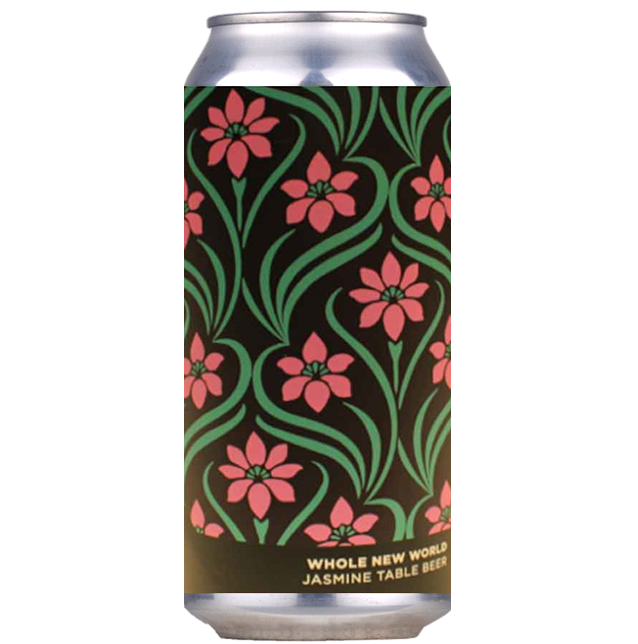 Brew York x Kirkstall Collab - A Whole New World Jasmine Table Beer 440ml (3.5%)