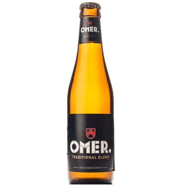 Brewery Omer Vander Ghinste OMER Traditional Blond 330ml (8%)