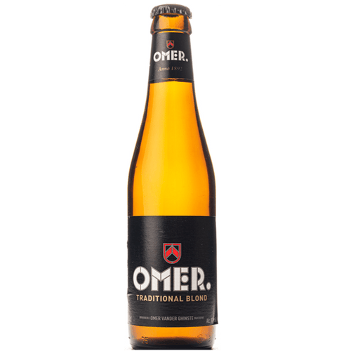 Brewery Omer Vander Ghinste OMER Traditional Blond 330ml (8%) - indiebeer