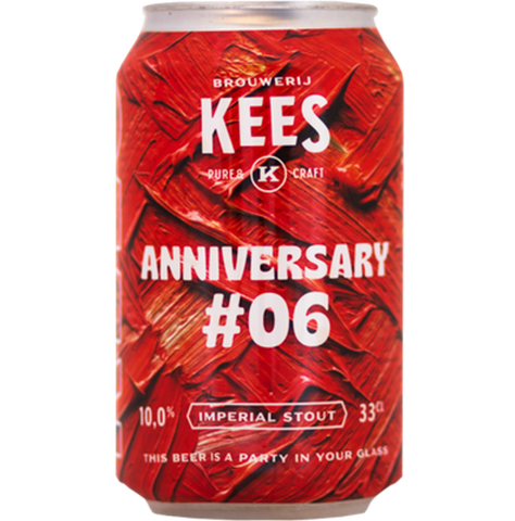 Brouwerij Kees Anniversary #6 Imperial Stout 330ml (10%)