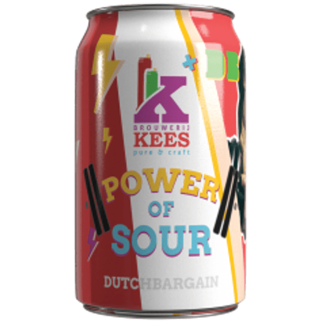 Brouwerij Kees x Dutch Bargain Collab - Power of Sour IPA 330ml (5.7%)